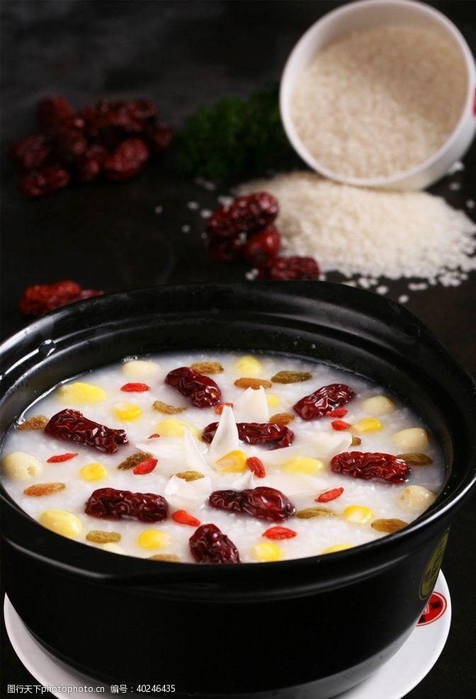 红枣粥图片