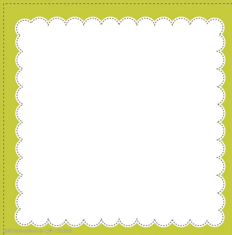 相框设计花边素材图片