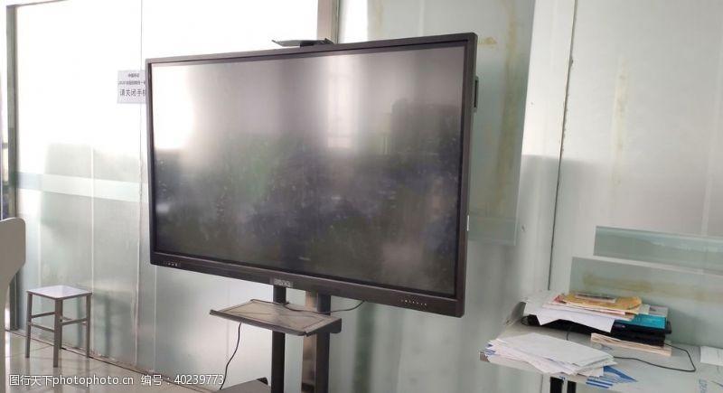 摄影图库教学显示器图片