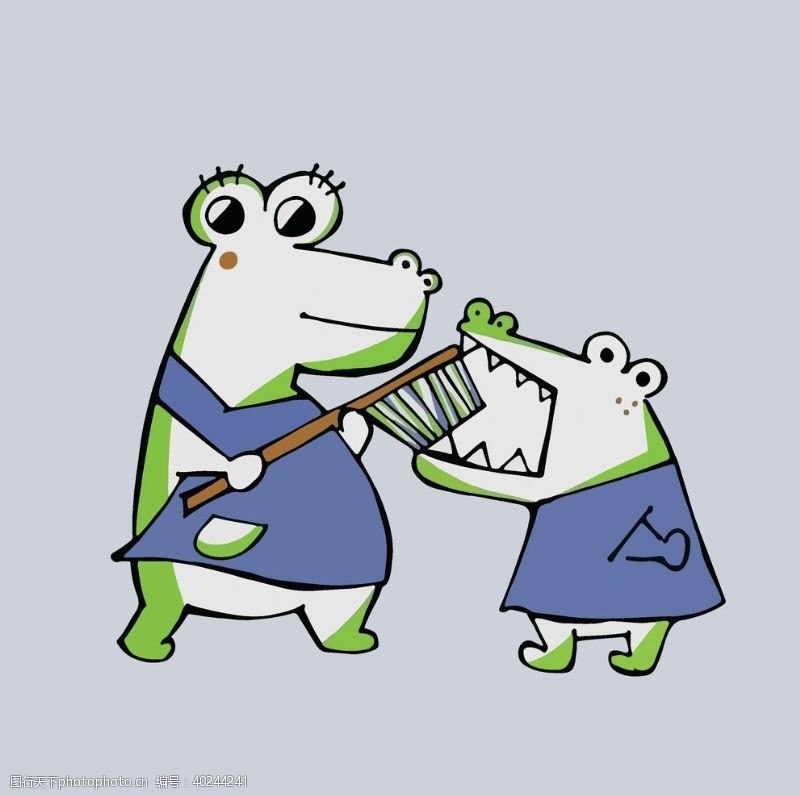 大片卡通动物图案可爱布偶吉祥物图片
