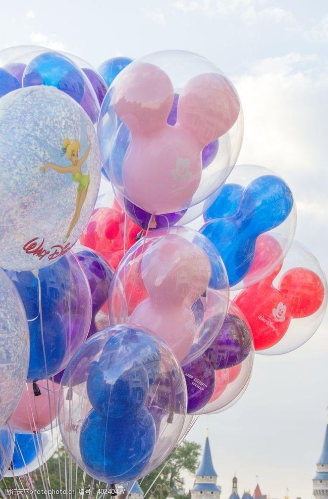假期卡通气球图片
