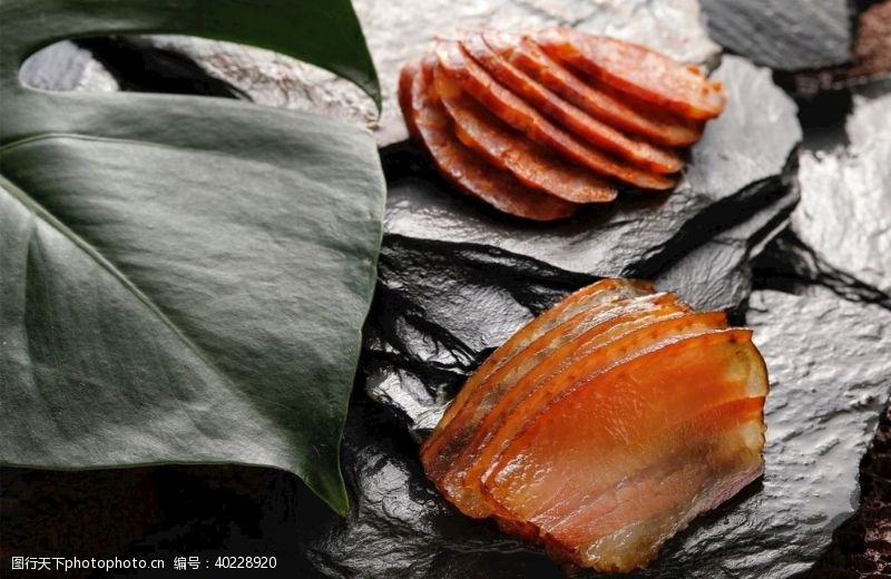 餐饮素材腊肉摄影图片