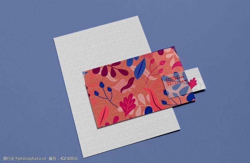 纸袋企业VI样机图片