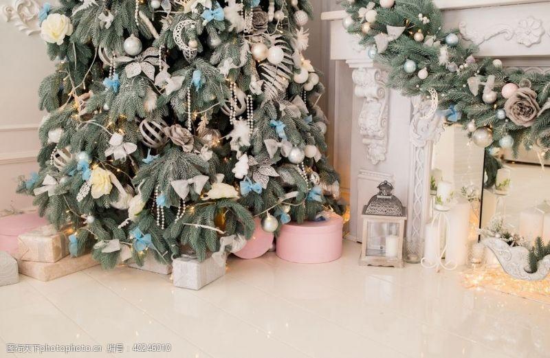 圣诞星星圣诞场景图片