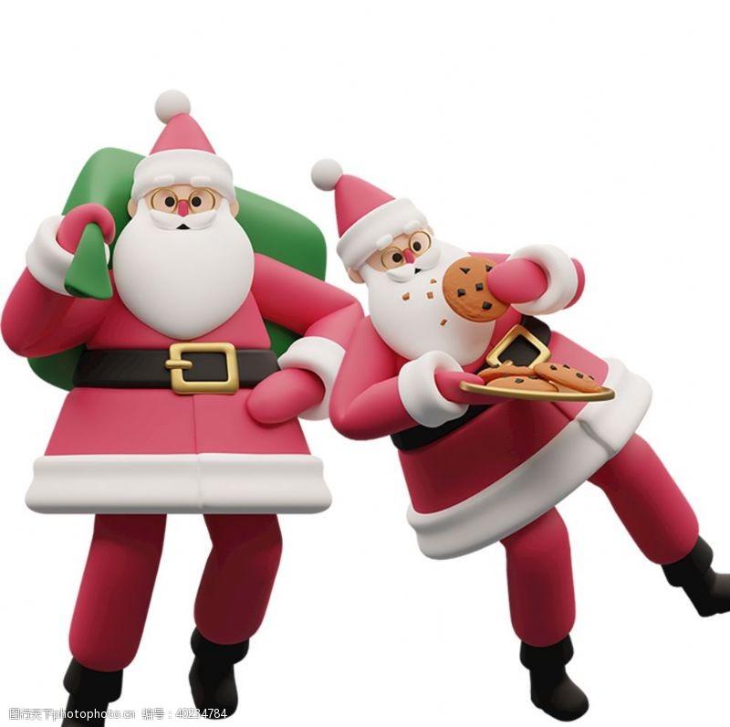圣诞节图标圣诞老人图片