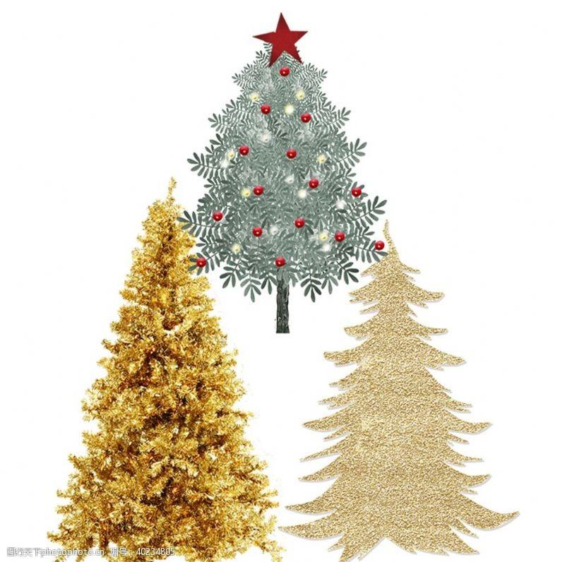 圣诞节图标圣诞树图片