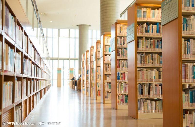 艺术品图书馆内部环境图片