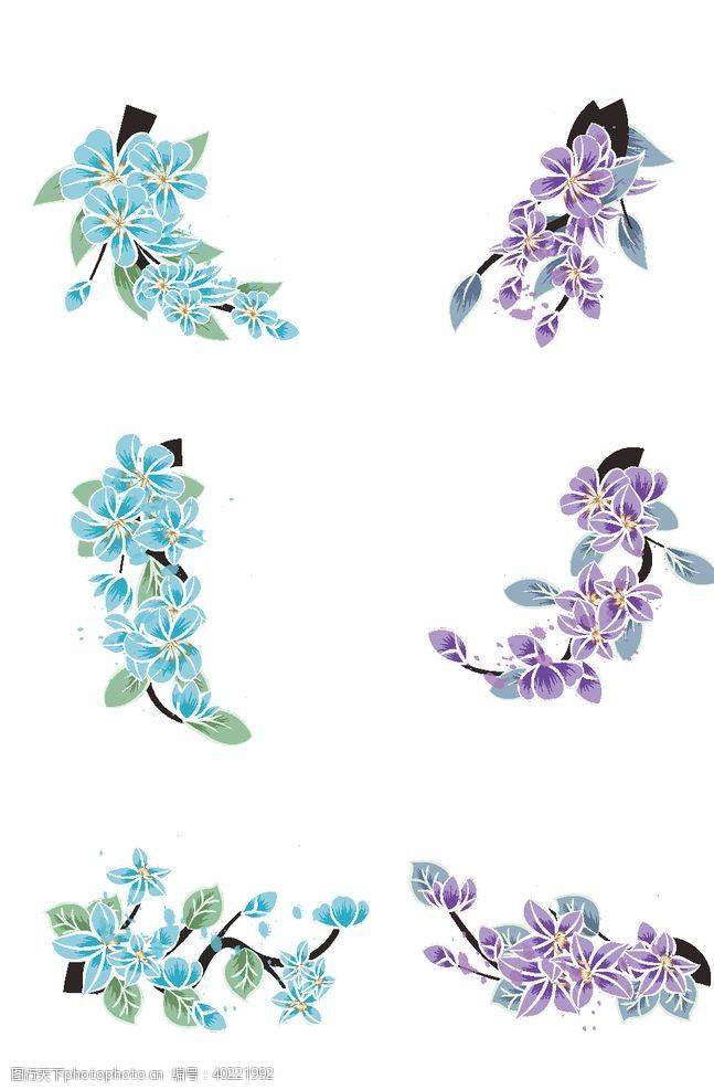 时尚花纹小清新花纹图片