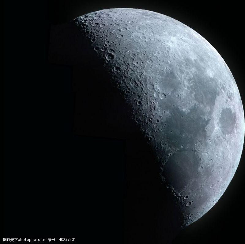 创意合成月亮图片