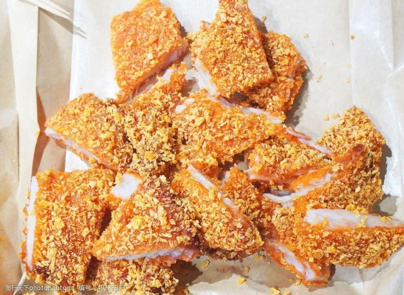 鸡排饭炸鸡排图片