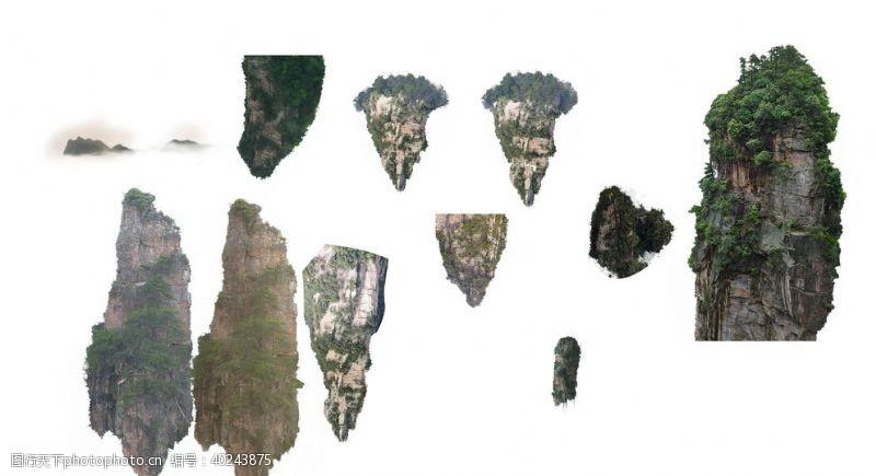 常用设计张家界山阿凡达图片