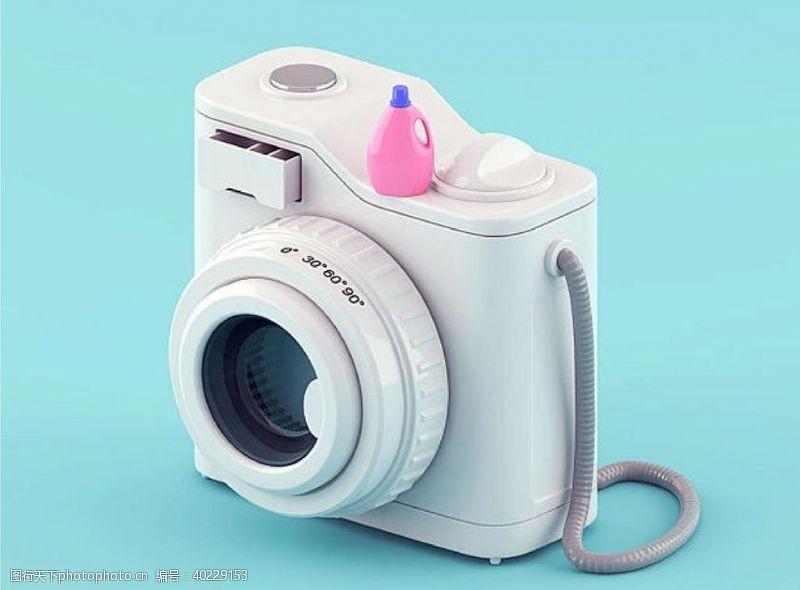 淘宝广告照相机图片