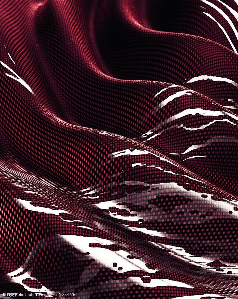 C4D模型PVC布料材料塑料图片