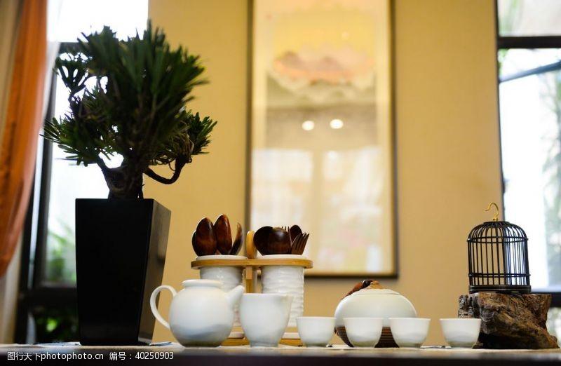 茶道中式图片