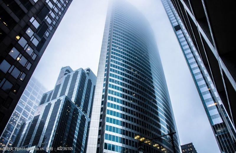 建筑效果图城市高层大厦建筑图片