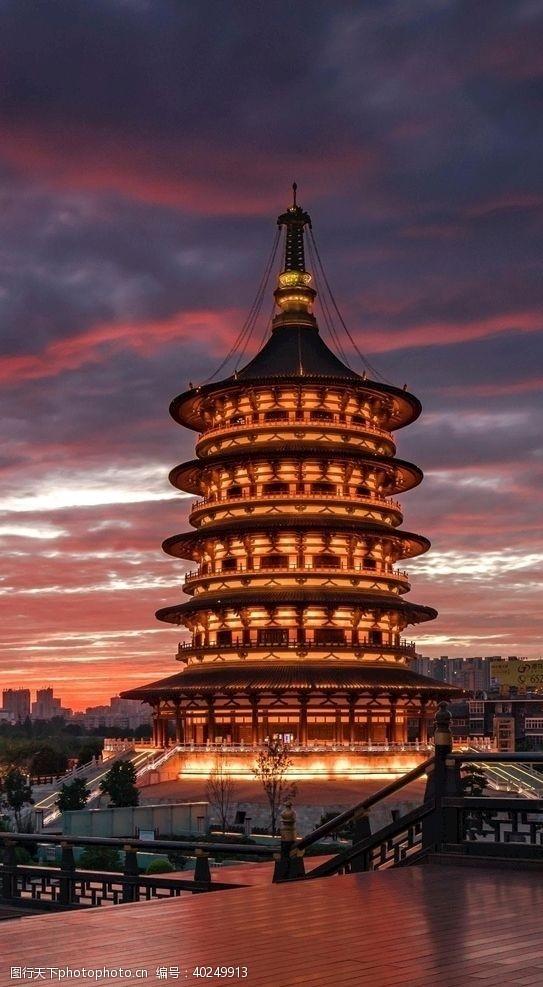 宫殿高塔图片