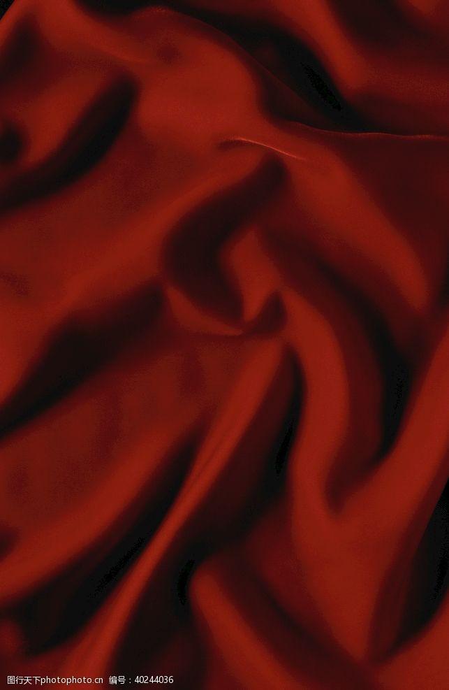 粗布红色丝绸布纹纹理缎子图片