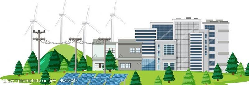 安装环保发电图片