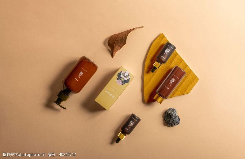 美容产品化妆品包装盒图片