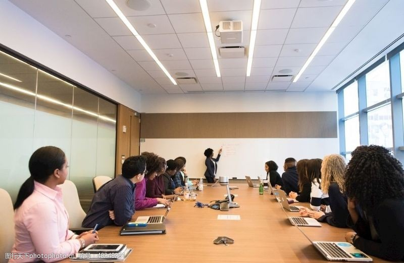 学习办公会议室图片