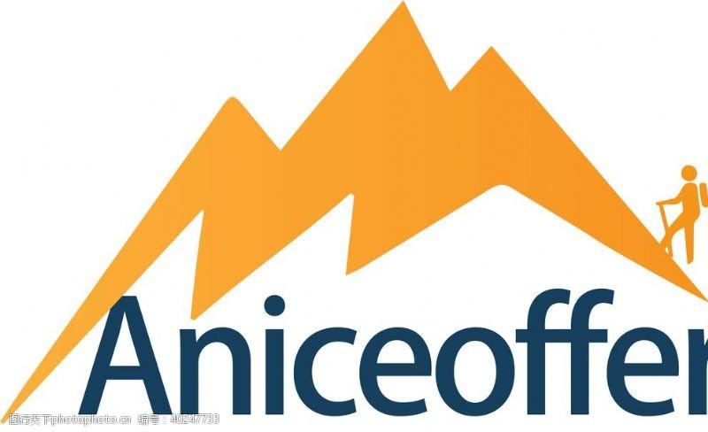 户外运动户外logo登山装备图标图片