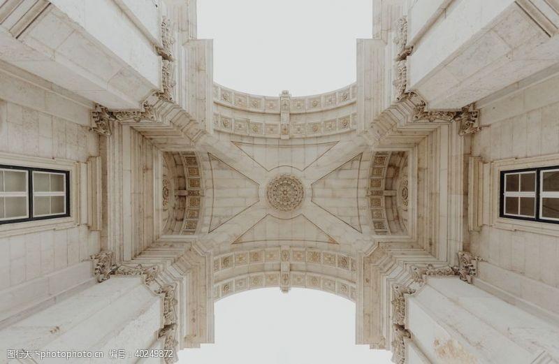 建筑外观建筑拱门图片