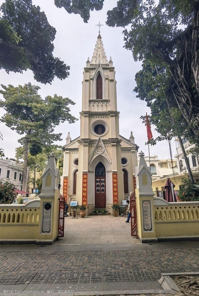 广州沙面教堂图片