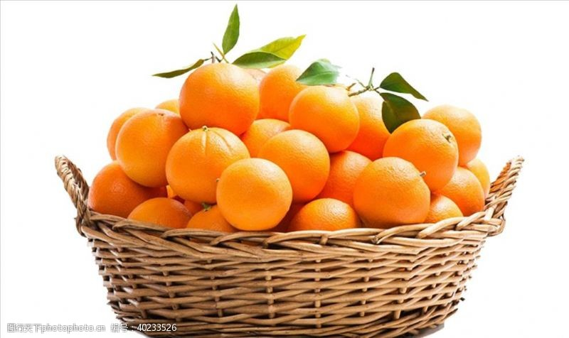 橘子素材图片