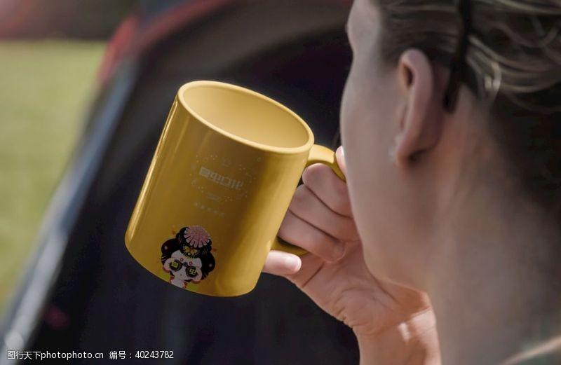 茶杯咖啡杯样机图片