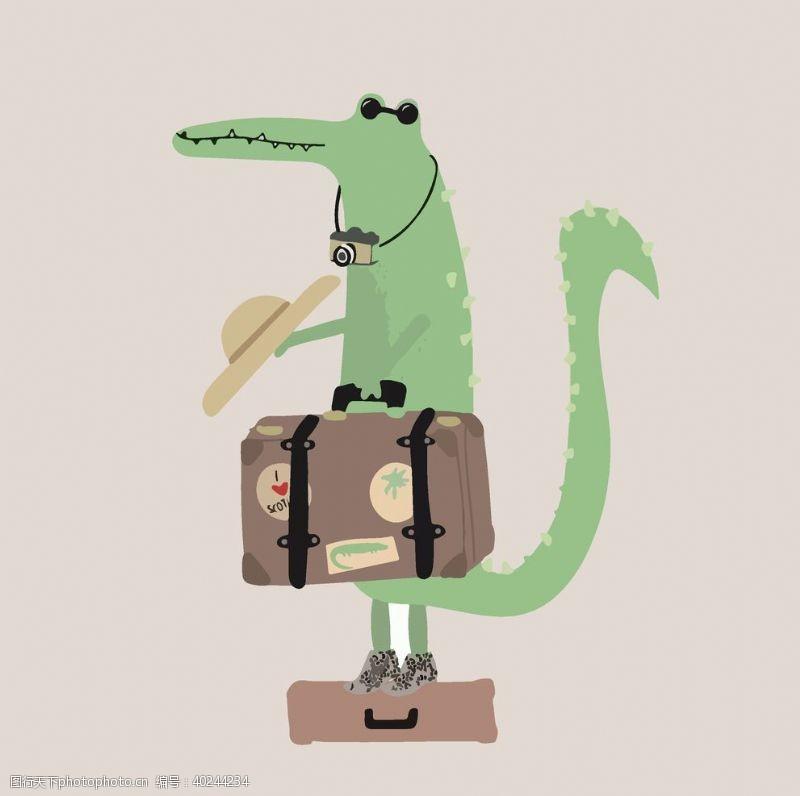 笑脸卡通动物图案可爱布偶吉祥物图片