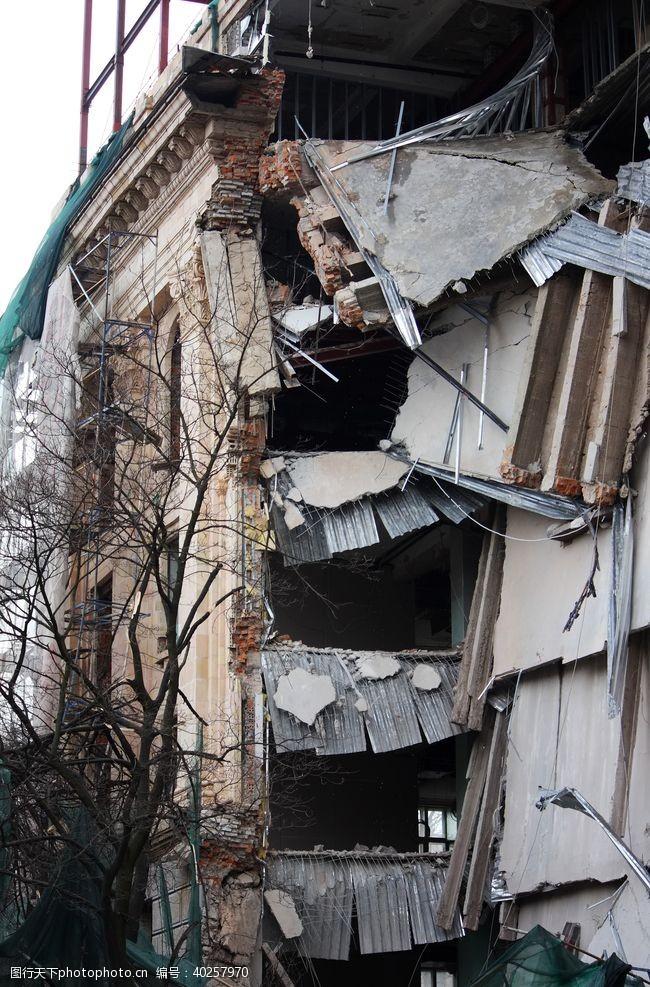 办公楼老旧建筑图片