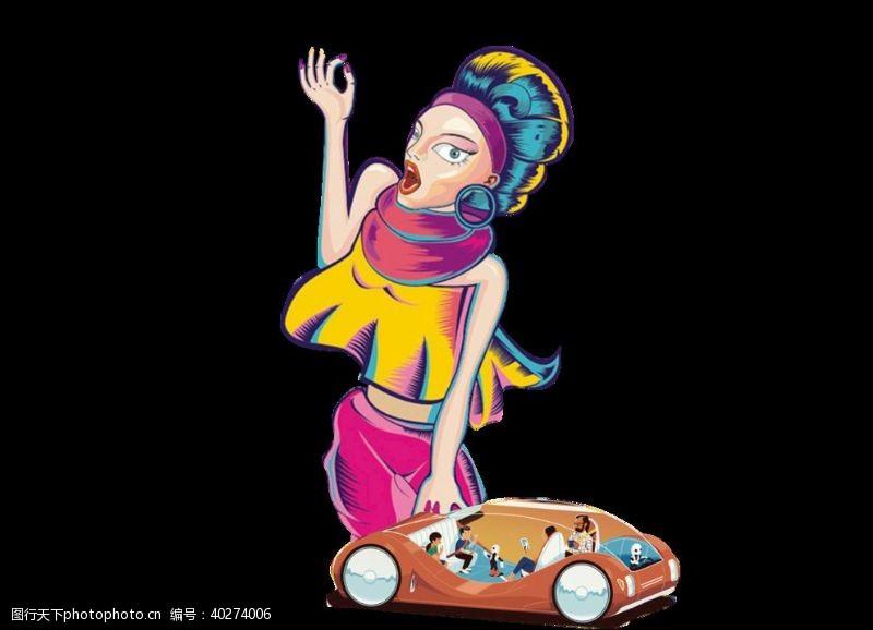 动画设计美女图片