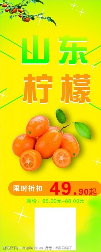 水果展架柠檬图片