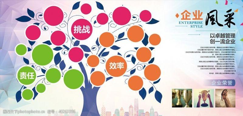 走廊文化企业文化背景墙图片
