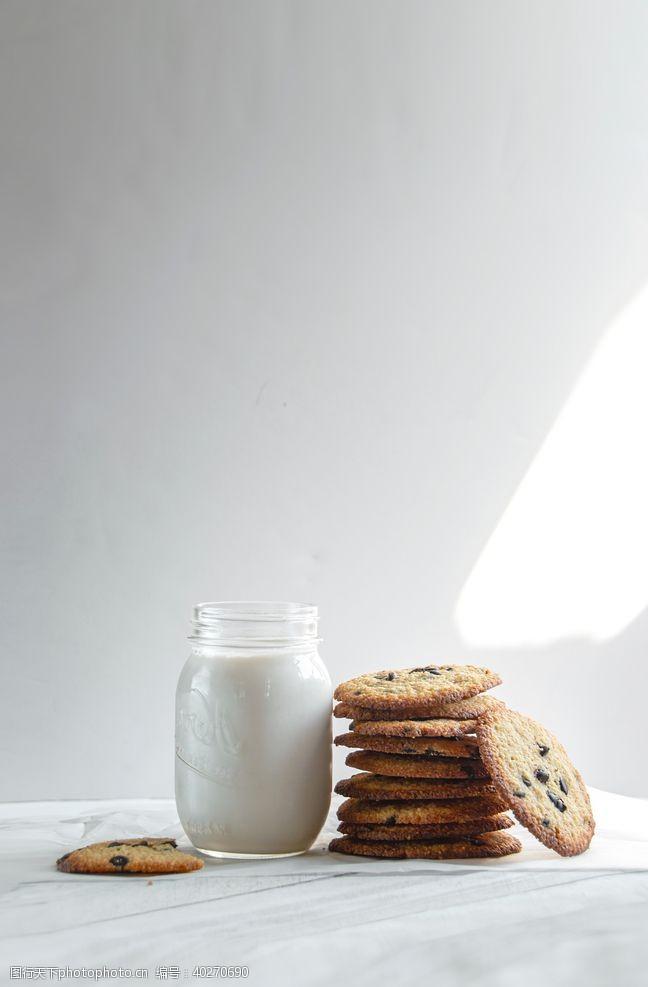展架素材曲奇饼图片