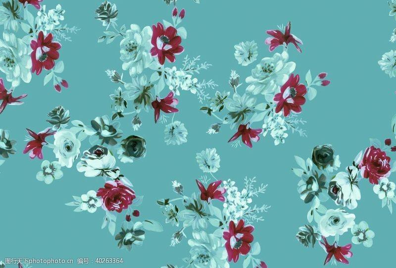 水彩花手绘花图片