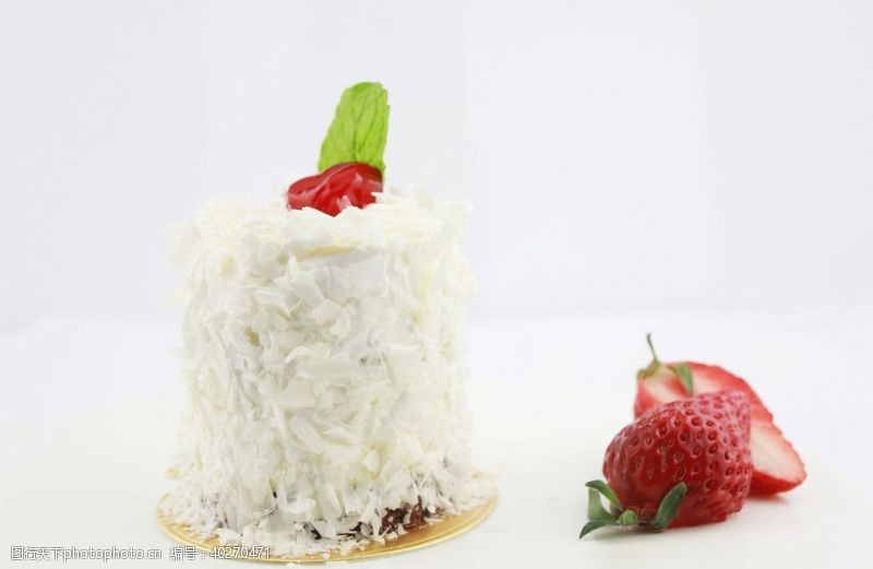 蛋糕面包天使优格蛋糕甜点图片