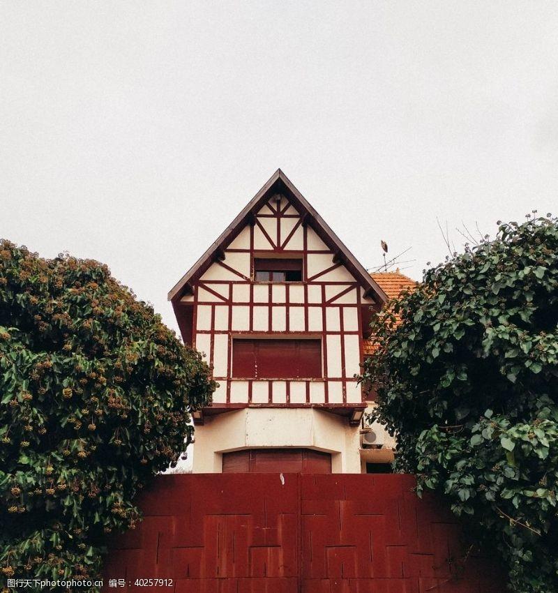 木屋小屋图片