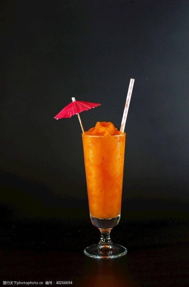 饮料夏威夷日出冰沙图片