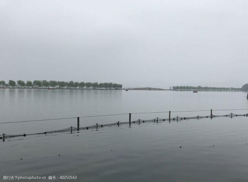 杭州西湖水面图片