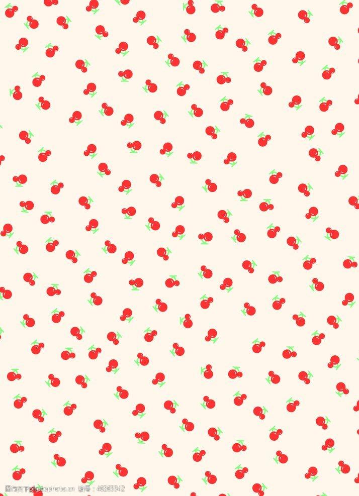 矢量设计樱桃图片