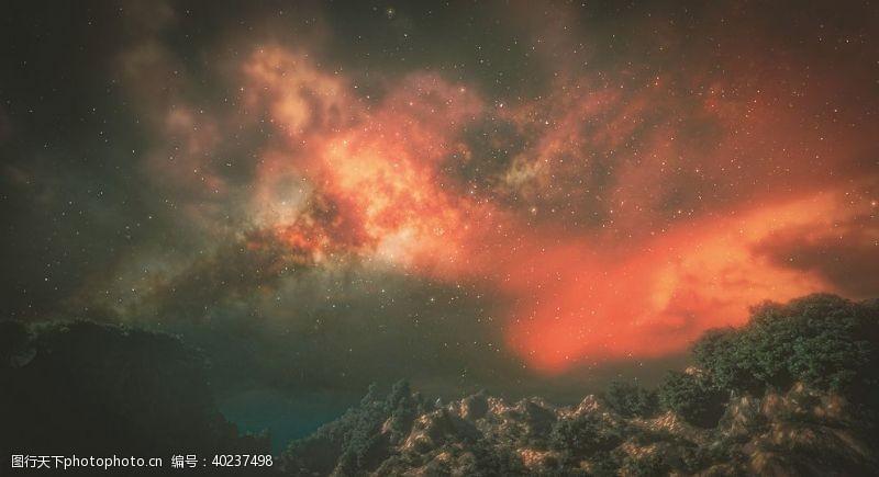 创意合成宇宙图片
