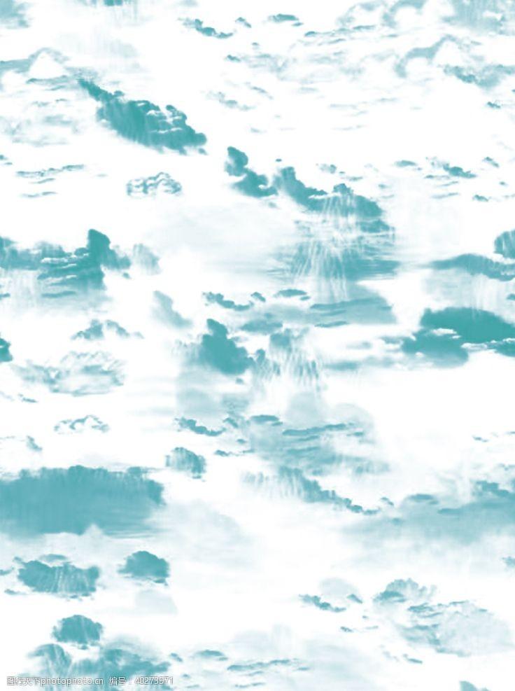 潮牌扎染山水图片