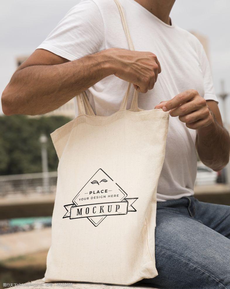 商品包装袋样机图片