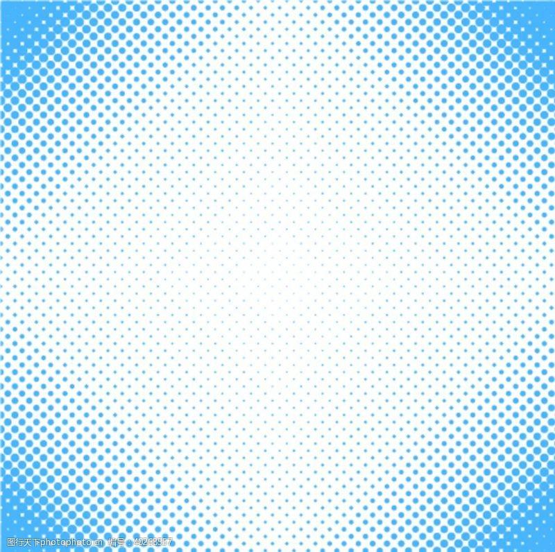 圆点彩色半调波点背景图片