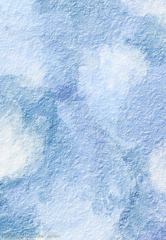 淡雅抽象水彩晕染背景图片