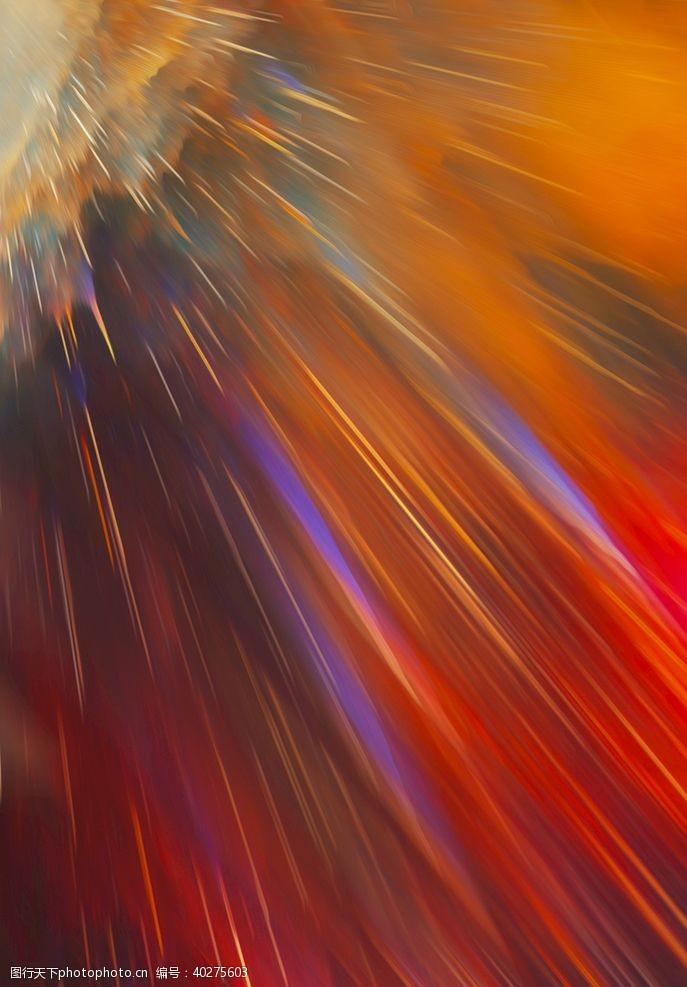 宇宙星空放射背景图图片