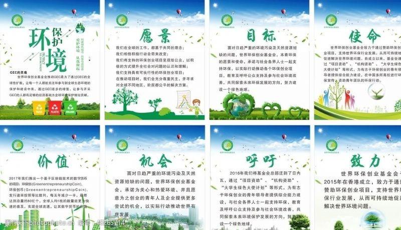 GEC环保展板图片
