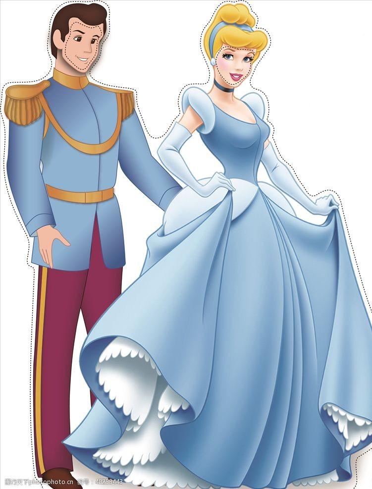 女生公主图片
