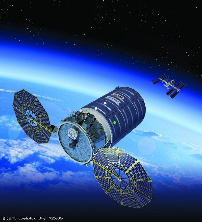 星球航天器载人火箭航天科技图片
